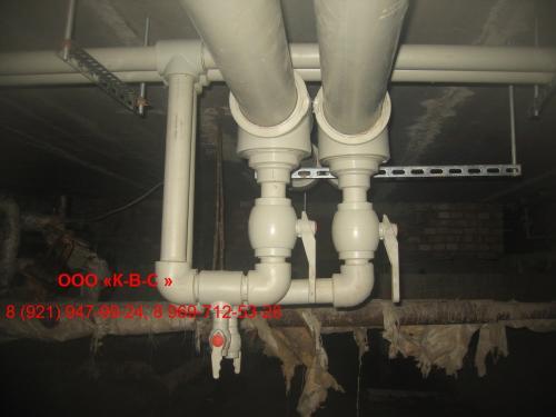 водопроводная система в квартирном доме