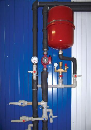 Проектирование и монтаж системы отопления в автосервисе