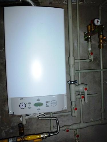 Монтаж системы отопления с газовым котлом