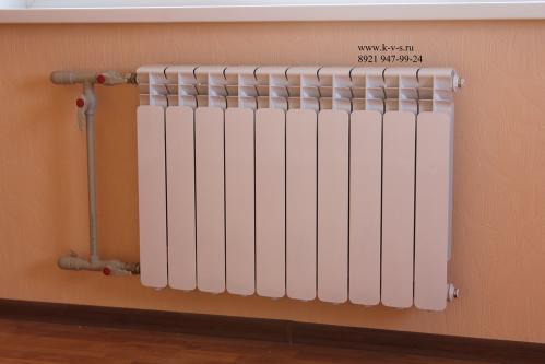 Замена радиатора отопления в СПб