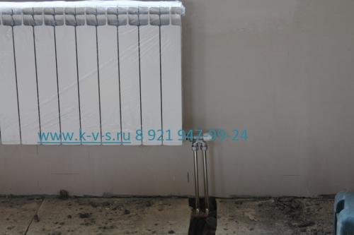 Подключение радиаторов отопления снизу
