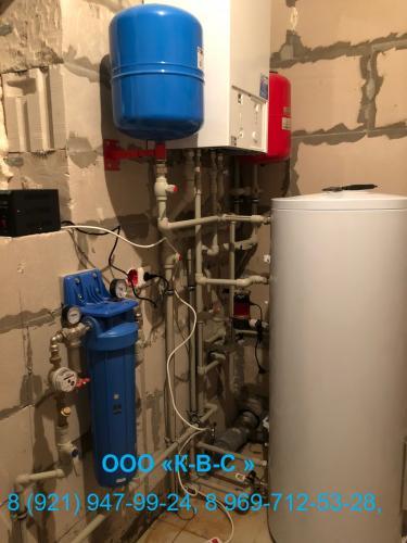 Система отопления в загородном доме. Проектирование, монтаж и запуск
